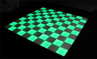 LED vloer groen