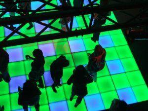 Verlichte dansvloer huren Rotterdam